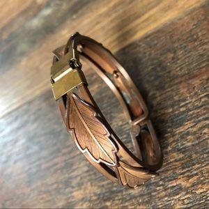 ❤️ Vintage Copper by Bell Bracelet